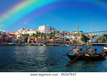 Day scene of Porto, Portugal