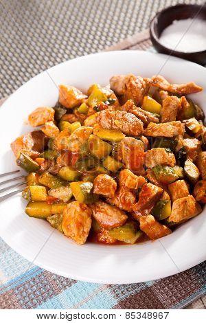 Pork And Vegetables Stew