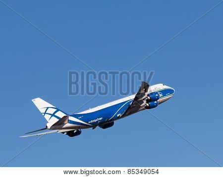 Boing 747-8F Aircraft