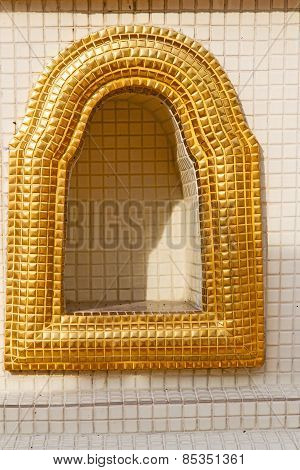 Window    Gold     Bangkok  Thailand Incision Of The