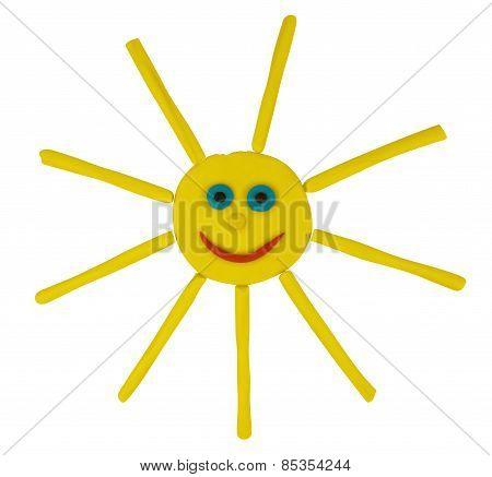 Plasticine Funny Sun