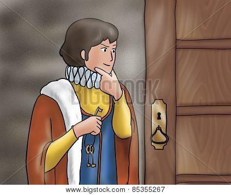 Astute prince - Fairy tale