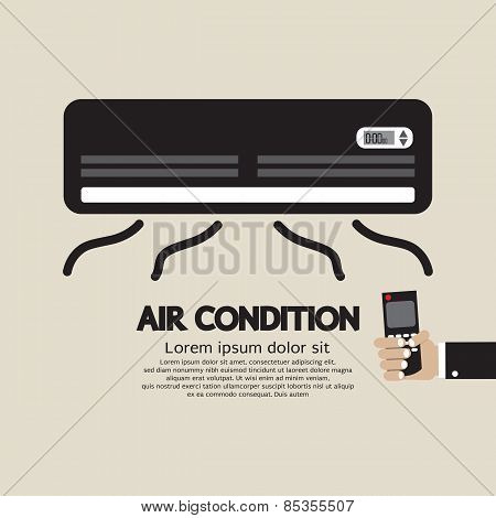 Air Condition Graphic.