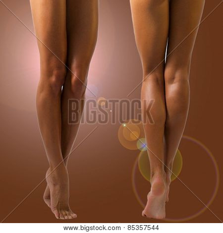 Beautiful Long Female Legs