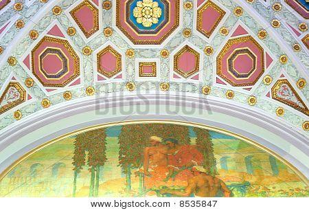 Lobby Ceiling Art