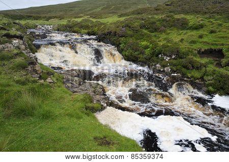 Waterfalls On River Rha