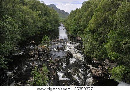 River Moriston At Bun Loyne