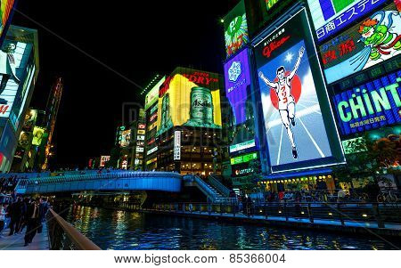 Glico BIllboard in Osaka
