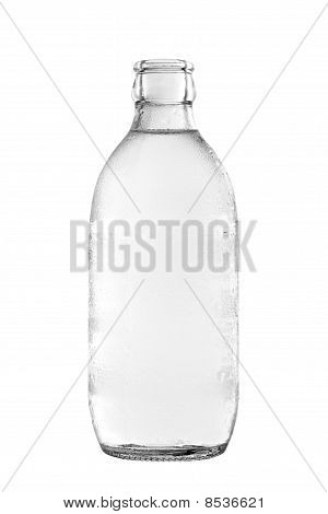 Glass Bottle Of Soda Water
