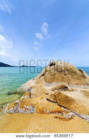 As  Isle White  Beach Thailand  South China Sea Kho Samui