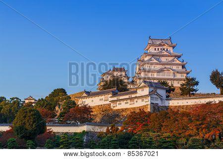 Himeji Castle in Hyogo Prefecture in Japan