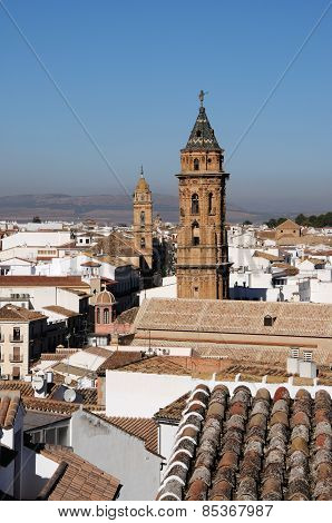 Town rooftops, Antequera.