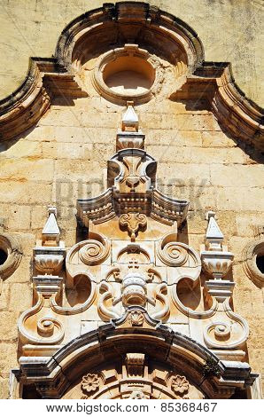 Church detail, Campillos.