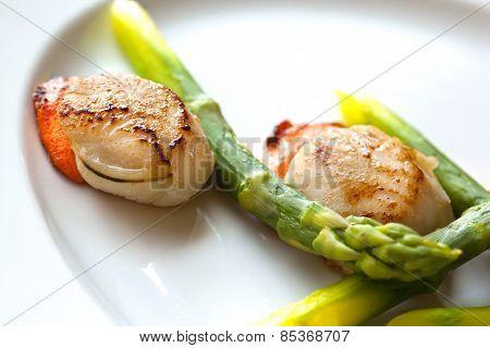 Sea Food And Vegetable