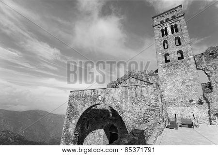 Benedictine Monastery Of Sant Pere De Rodes. Girona