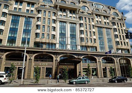 Beautiful Intercontinental Hotel In Kiev