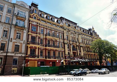 Beautiful Renaissance Hotel In Baroque Style In The Proreznaya Street