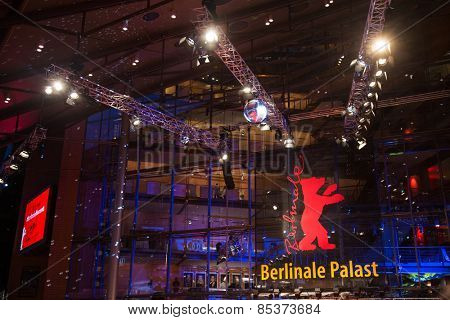 BERLIN, GERMANY - FEBRUARY 05: 65th Berlinale International Film Festival at Berlinale Palace on February 5, 2015 in Berlin, Germany