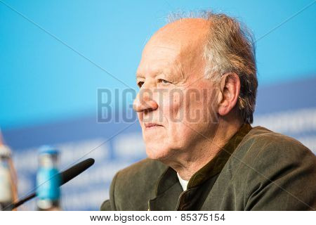 BERLIN, GERMANY - FEBRUARY 06: Director Werner Herzog attends the 'Queen of the Desert'  during the 65th Film Festival at Hyatt Hotel February 6, 2015 in Berlin, Germany.