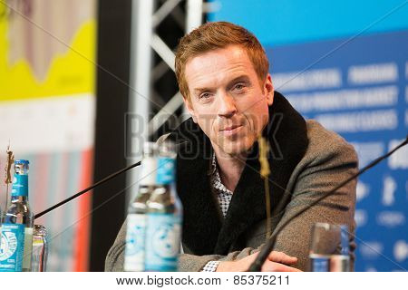 BERLIN, GERMANY - FEBRUARY 06: Actor Damian Lewis attends the 'Queen of the Desert' press conference during the 65th Film Festival at Hyatt Hotel February 6, 2015 in Berlin, Germany.