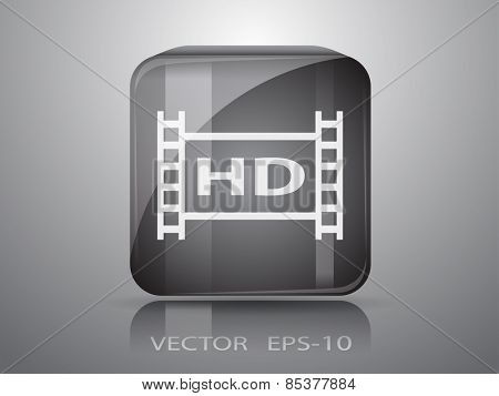 icon of hd video