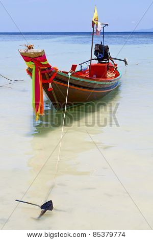 Thailand  Anchor   Kho Tao Bay Asia Isle