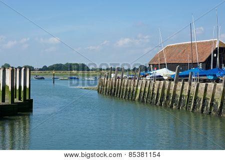 Bosham Quay, Sussex, England