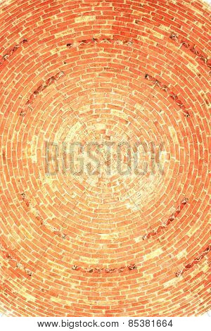 Brick Dome Inside.