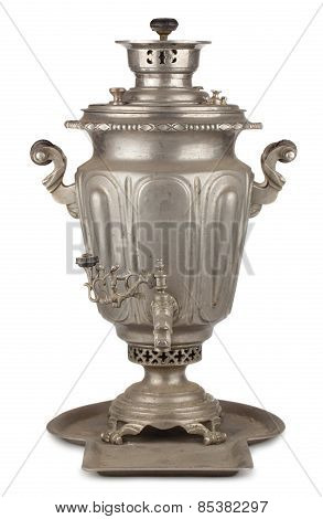 Old Russian Tea Samovar