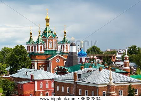 The Cityscape Of The Kolomna Kremlin