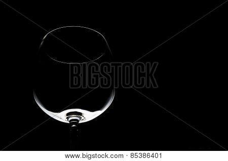 Wine glass contour