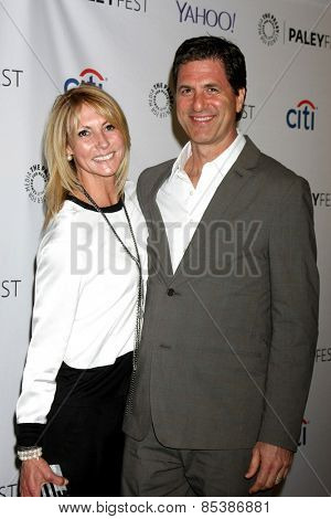 LOS ANGELES - MAR 14:  Krista Levitan, Steve Levitan at the PaleyFEST LA 2015 -