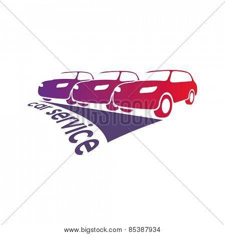Vector illustration on vehicles