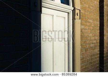 Door Of House In The Sunlight
