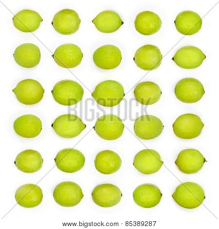 Green Limes Background