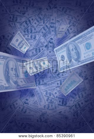 US dollar falls