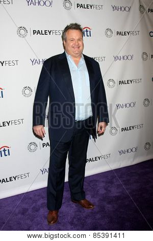 LOS ANGELES - MAR 14:  Eric Stonestreet at the PaleyFEST LA 2015 -