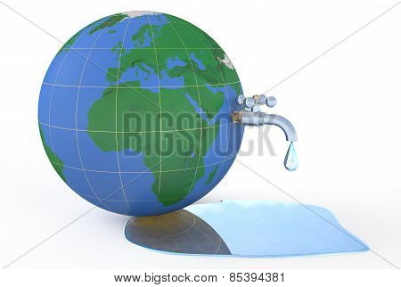 Save Water On Earth, Concept