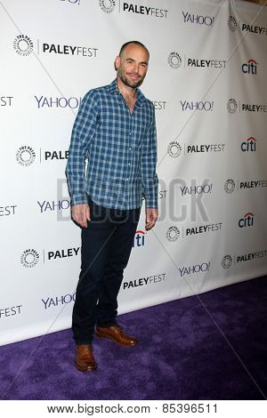 LOS ANGELES - MAR 14:  Paul Blackthorne at the PaleyFEST LA 2015 -
