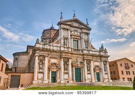 Cathedral Of S. Maria In Porto In Ravenna, Italy