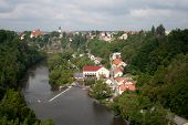 picture of bohemia  - A city Bechyn - JPG