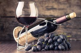 foto of cluster  - Winery background - JPG