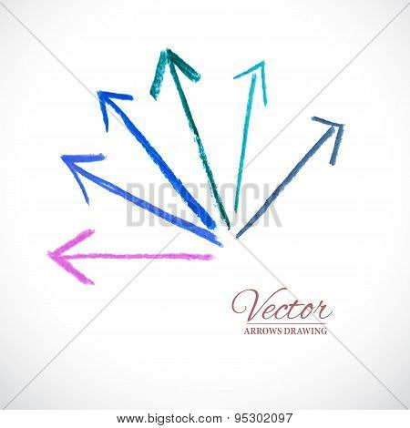 Vector Arrows Pastel