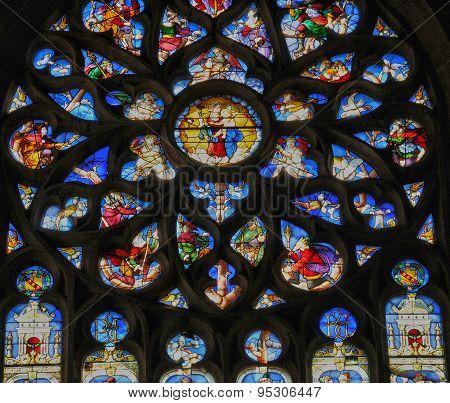 Church Of Nogent Le Roi In Eure Et Loir