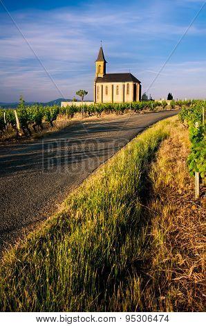 Church of Saint Laurent d'Oingt, Beaujolais, France