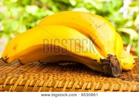 Banana On Wicker