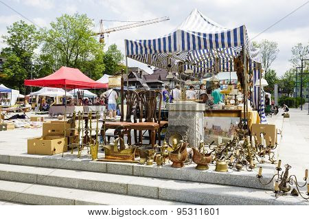 Antiques Sale In Zakopane, Poland