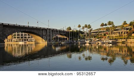 An Early Morning London Bridge Shot, Lake Havasu City