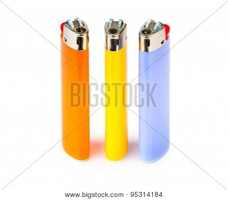 Three Cigarette Lighters