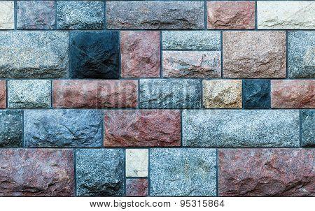 Seamless Stone Blocks Wall